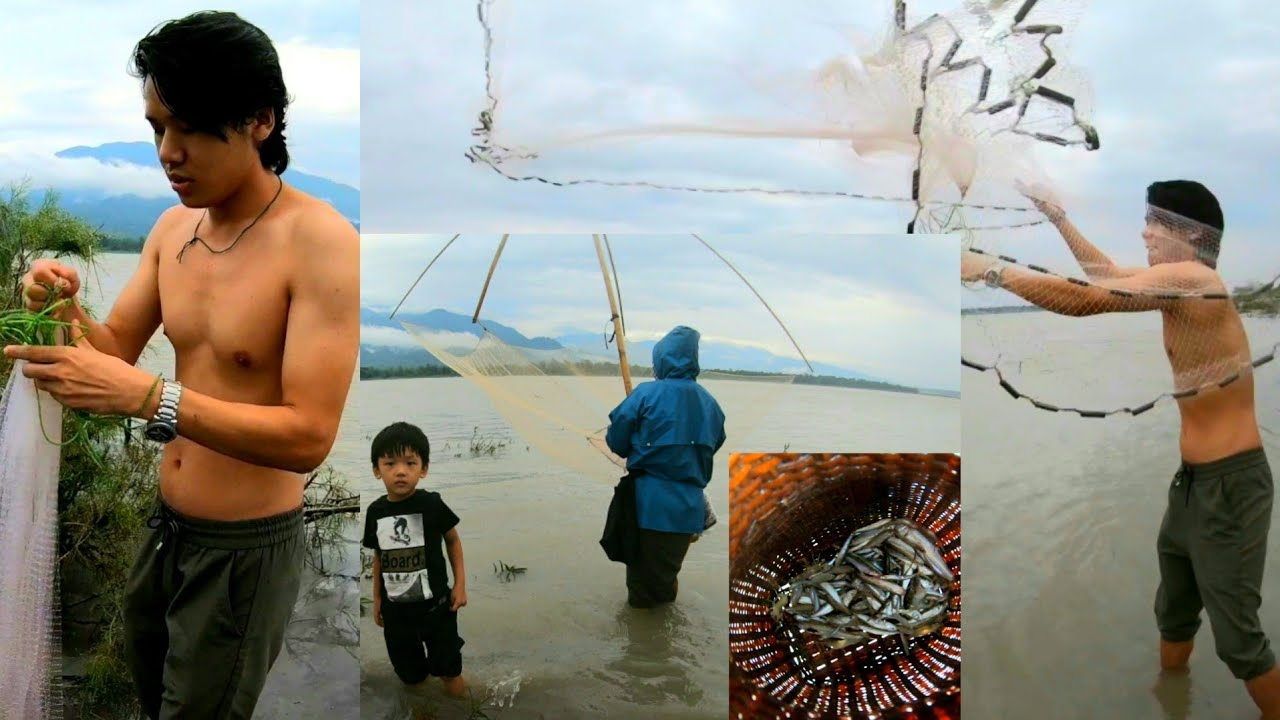 Community Fishing | Adi Tribe | Siang River | Arunachal Pradesh | Northeast India | Lenzing Weekly