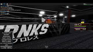 Amare VS Chase! Round 1 (Roblox 2x19 Wrestling)