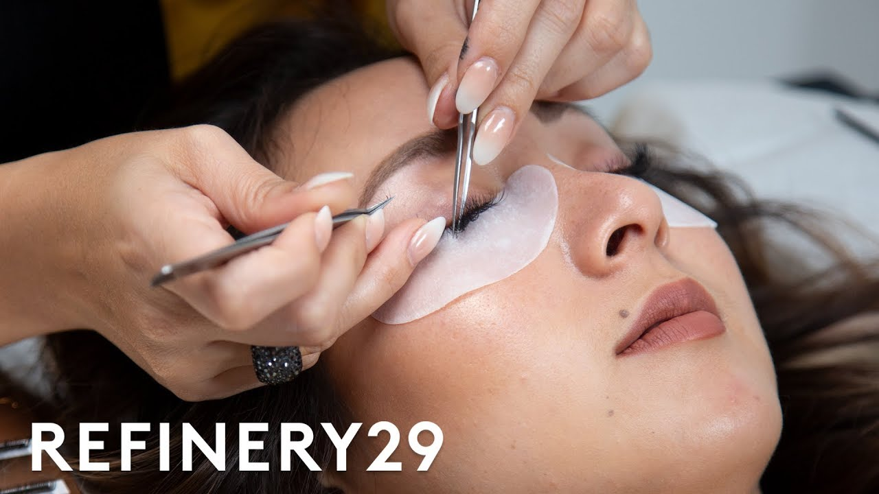 I Got $200 Eyelash Extensions For The First Time | Macro Beauty | Refinery29