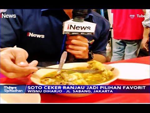 Berburu Kuliner Ramadhan, Soto Ceker Dan Ranjau Pak Gendut Di Jalan Sabang - INews Malam 12/05