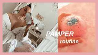 spa at home : PAMPER ROUTINE  | federica