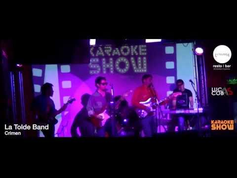 Karaoke Show - Crimen - Karaoke en Banda - La Tolderia