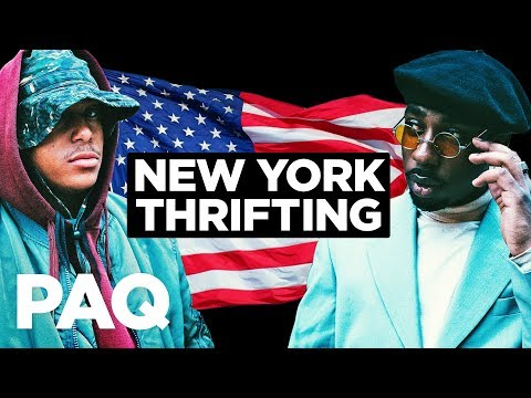 PAQ Ep #13 - Thrifting in New York City