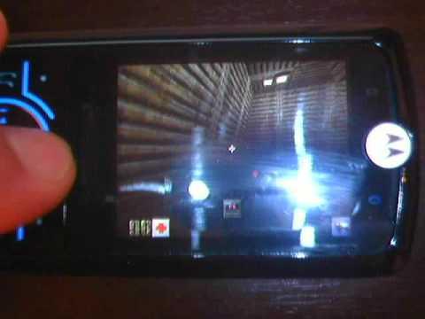Quake 2 on Motorola Z6
