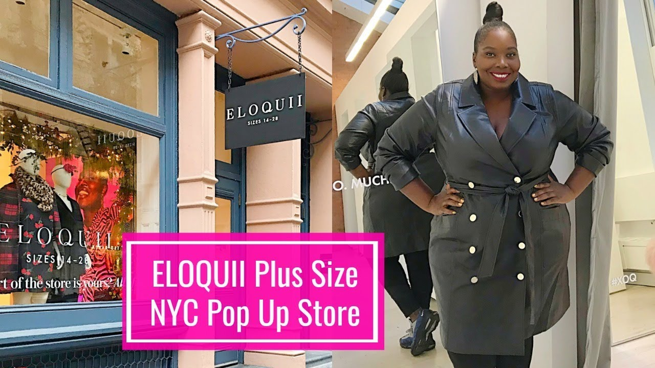 04f85405ed0 Shopping Eloquii Plus Size New York Pop Up Store - YouTube