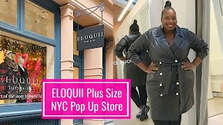 Shopping Eloquii Plus Size New York Pop Up Store