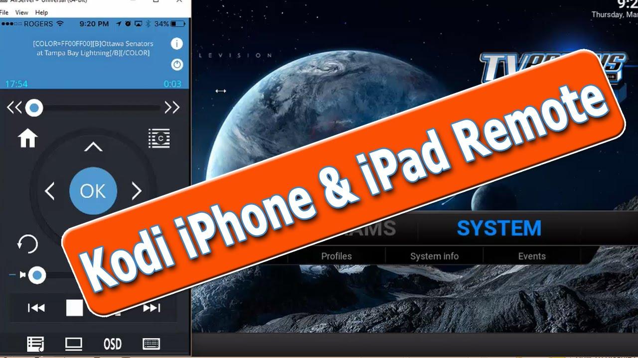 How To Control Kodi with iPhone or iPad - Kodi Remote Control
