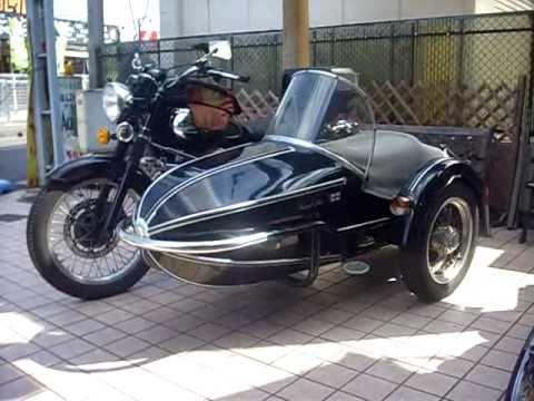 W650 Sidecar Kawasaki W800