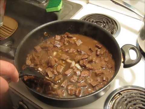 Round Steak And Gravy~soul Food
