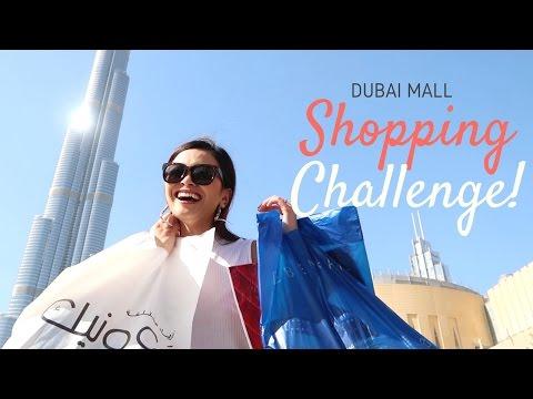 Shopping Challenge in Dubai Mall