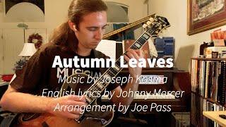 Autumn Leaves, arrangement by Joe Pass