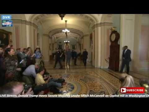 FULL Donald Trump meets Senate Majority Leader Mitch McConnell on Capitol Hill 11 10 16