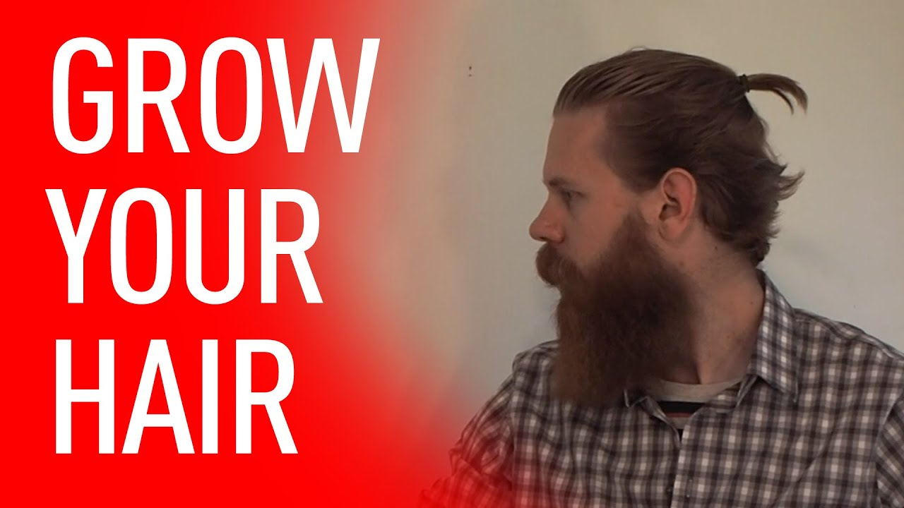 Growing Your Hair Out Tips For Men Eric Bandholz Youtube