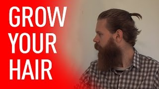 Growing Your Hair Out - Tips For Men | Beardbrand