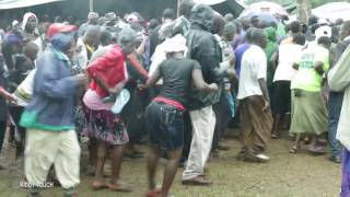Tiriki dance and songs  during the burial of the clan leader Vuraje. RIP.
