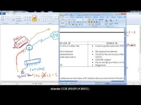 006 understanding Private & Public IP