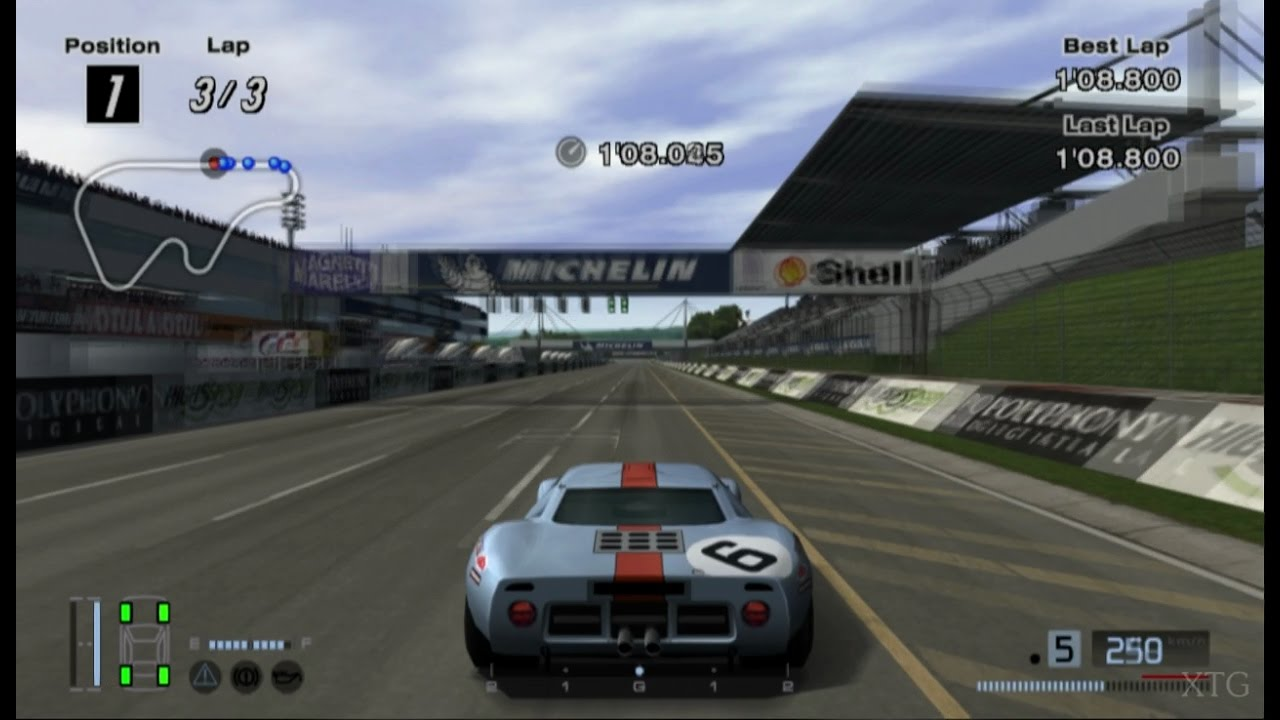 gran turismo 4 ford gt40 race car 39 69 ps2 gameplay hd. Black Bedroom Furniture Sets. Home Design Ideas