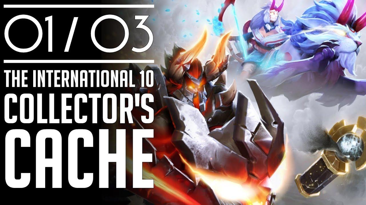 เค้กลาวาไหมล่ะ! l Dota 2 รีวิวกล่อง The International 10 Collector's Cache (01/03)