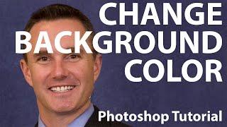 Photoshop - Change Background Color