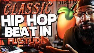 classic hip hop beat in fl studio (making a boom bap beat)