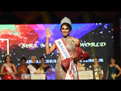 34-year-old student, mum of three crowned Mrs Malaysia World 2018
