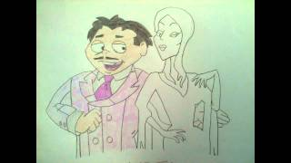 The Addams Family Drawing
