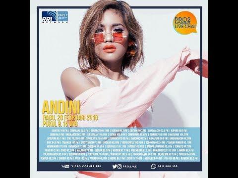 ANDINI - Morning Live Chat Pro2 FM RRI Jakarta (Live Video Corner RRI)