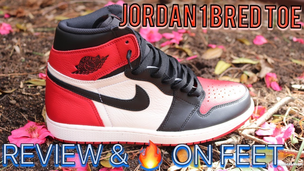 air jordan bred toe 1 nz