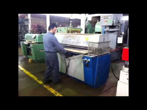 60 Ton Samco Die Cutting Press Stock 26120 Youtube