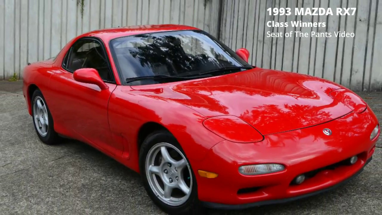 class winners seat of the pants video: 1993 mazda rx7 - youtube