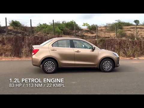 New Maruti DZire Test Drive - First Look | Engine | Mileage | Price | Specs