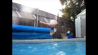 Pool Flips! Family Fun Pack Kids in the Swimming Pool
