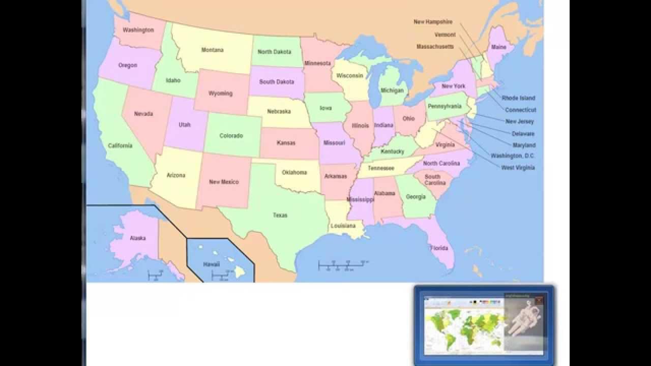 ENGLISH LANGUAGE 120 Pronunciation of US States YouTube