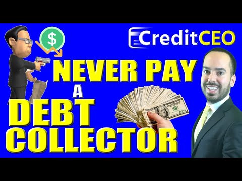Never Pay Debt Collector