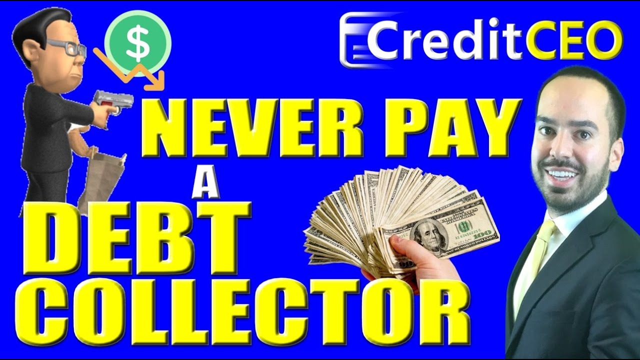 Image result for never pay credit collection agencies