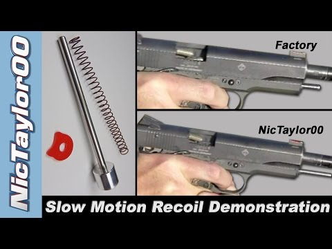 GSG Slow Motion Recoil Guide Rod Demo