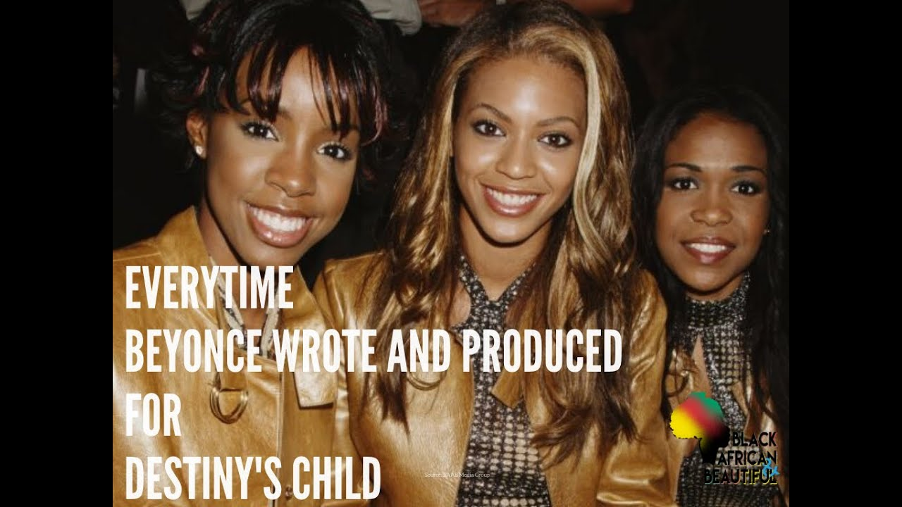 Every time Beyoncé wrote something for Destiny's Child Compilation in 30 seconds