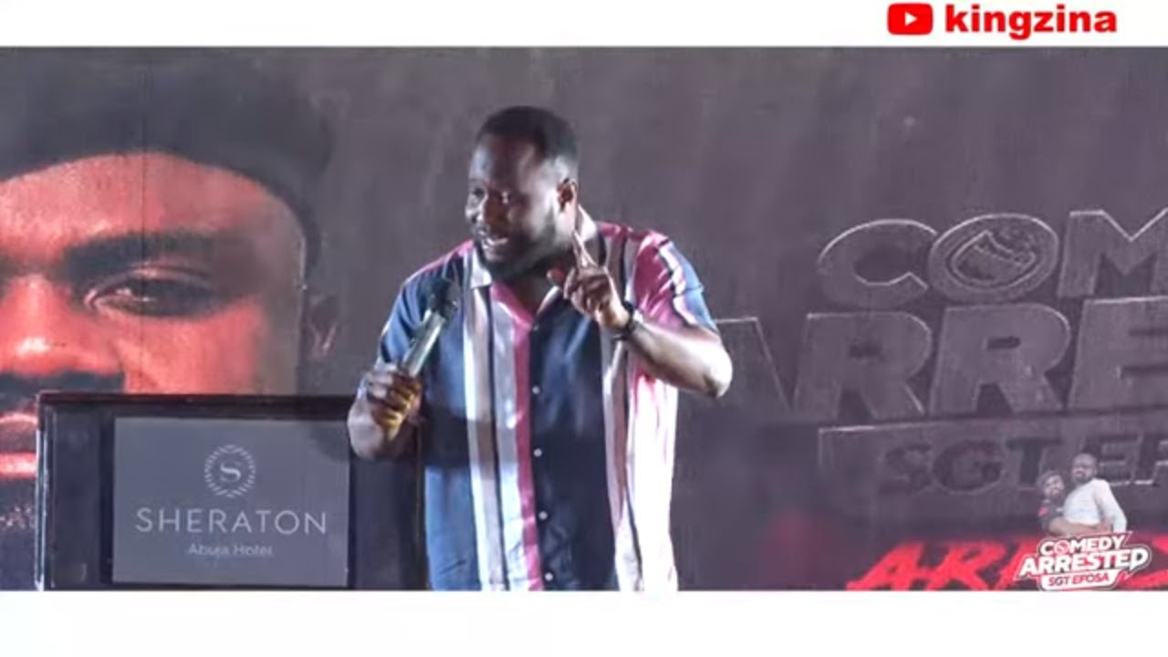 Download Dan D Humorous is a beast in comedy! He thrilled the crowd Live @  Comedy Arrested live in Abuja