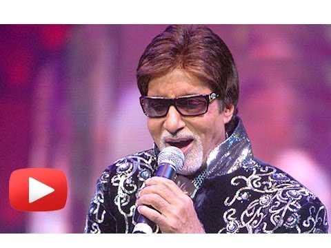 Amitabh Bachchan To Sing In A Live Concert! [HD]