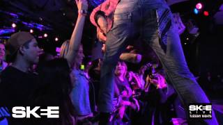 "MGK perms ""Swing Life Away"" on SKEE Live!"
