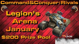 C&C Rivals: Legion's Arena January!