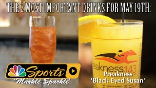 Making signature drinks for Preakness, royal wedding I NBC Sports