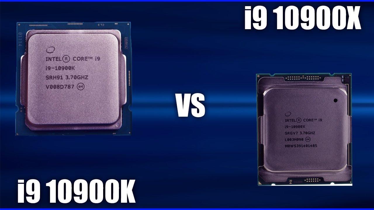 Процессор Intel I9 10900K vs 10900X. Сравнение + тесты в играх!