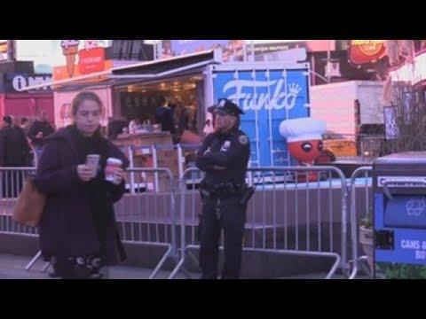 Nueva York despliega dispositivo de seguridad antes del maratón