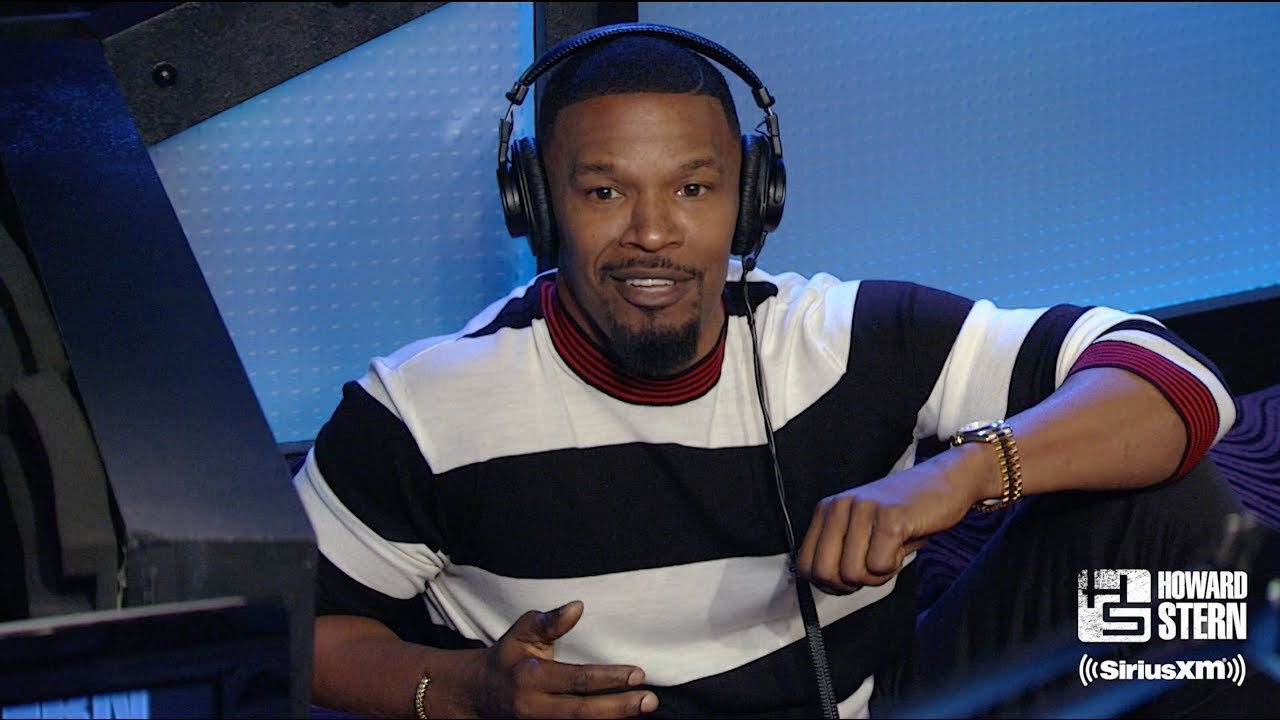 Jamie Foxx Tells Howard Stern How He First Teamed Up With Kanye West