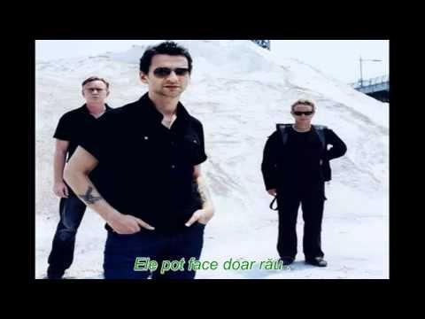 Depeche Mode Enjoy The Silence Traducere Romana Youtube
