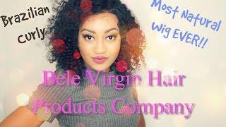 Bele Virgin Hair Curly Brazilian Wig | REVIEW!!