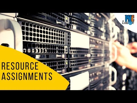 Resource Assignments (Physical Resource And Project Team) - Outputs Of Acquire Resources