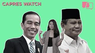 1 UNTUK JOKOWI 2 UNTUK PRABOWO - Capres Watch