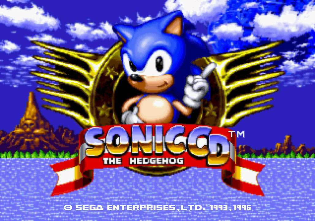 Sonic Cd Us Soundtrack Youtube